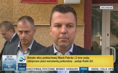 Marek Falenta zatrzymany przez prokuraturę