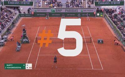 Najlepsze zagrania 14. dnia Roland Garros