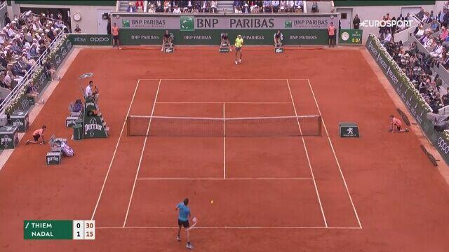 Skrót finału Nadal – Thiem