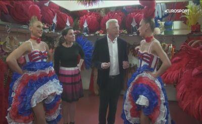 Boris Becker odwiedził Moulin Rouge