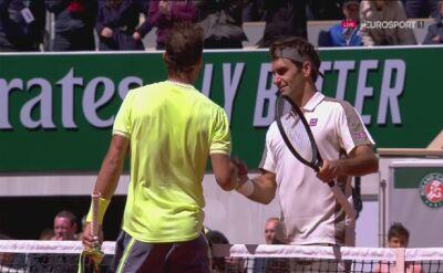 Kibice w Paryżu pięknie pożegnali Federera