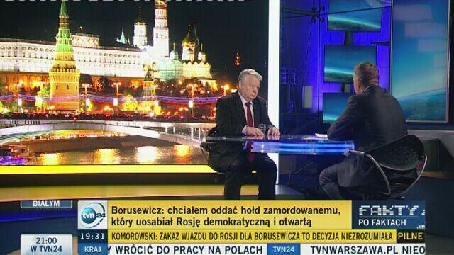"""""""Nie pozwolimy ustalać Rosjanom, kto ma lecieć na pogrzeb Niemcowa"""""""
