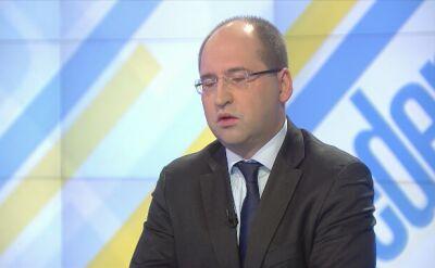 Adam Bielan komentuje nieobecność Jarosława Kaczyńskiego