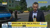 Duża akcja policji we Wrocławiu