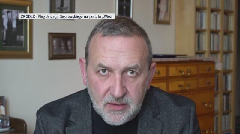 Jerzy Sosnowski: takie przeprosiny wyglądają jak lęk przed konsekwencjami