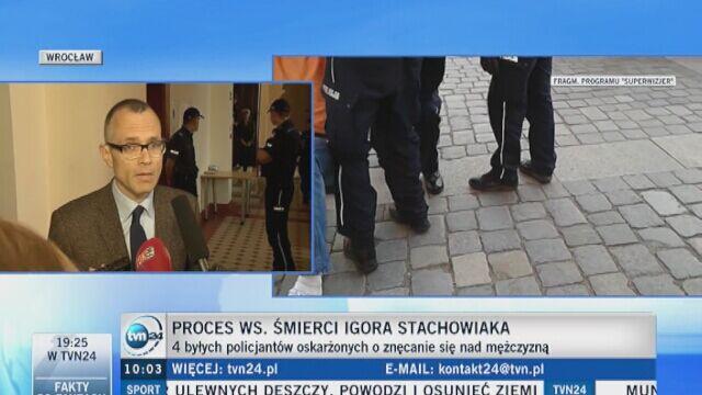 Proces w sprawie śmierci Igora Stachowiaka