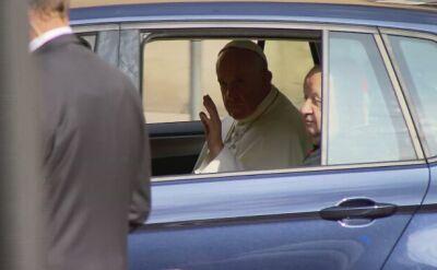 Papież wyjechał do Brzegów