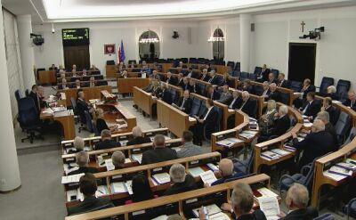 Głosowanie w Senacie w sprawie Dudzińskiej