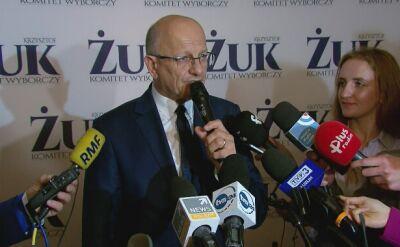 Krzysztof Żuk, prezydent Lublina, dziękuje mieszkańcom za poparcie