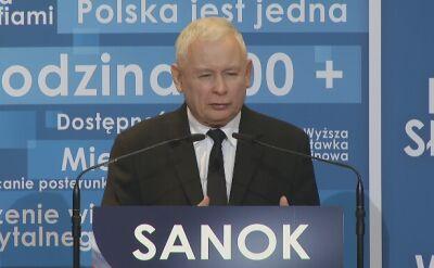 Kaczyński: polscy obywatele nie muszą niczym ustępować, jeżeli chodzi o poziom życia, tym na zachód od naszych granic