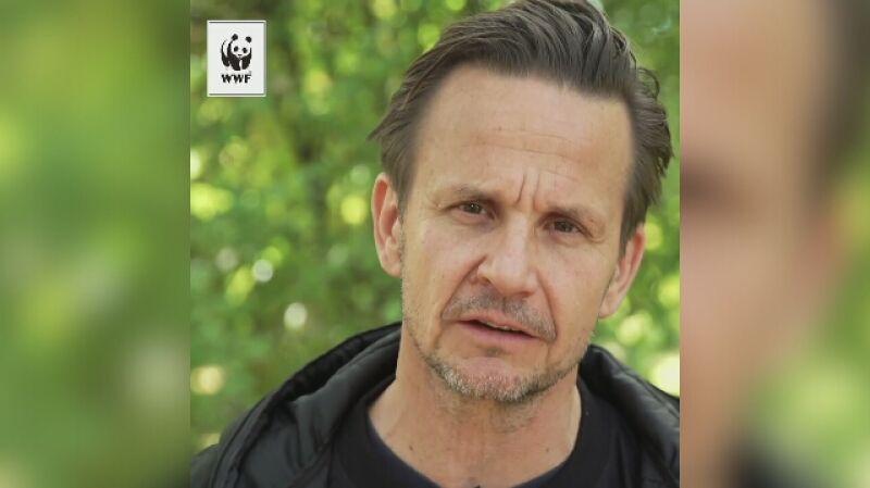 Bartłomiej Topa w kampanii WWF Chrońmy Wilka