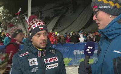 Rozmowa z Michalem Dolezalem po niedzielnych zawodach w Predazzo