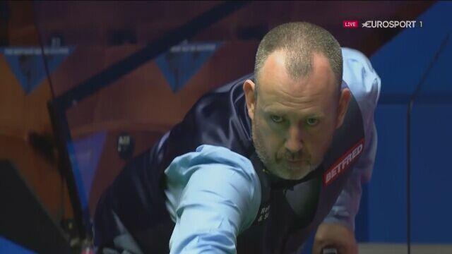 Świetne zakończenie 1. sesji meczu Williamsa z Higginsem