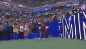 Skrót meczu Raducanu - Fernandez w finale US Open
