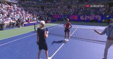 Emma Raducanu po awansie do półfinału US Open