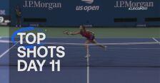 TOP 5 najlepszych zagrań 11. dnia US Open