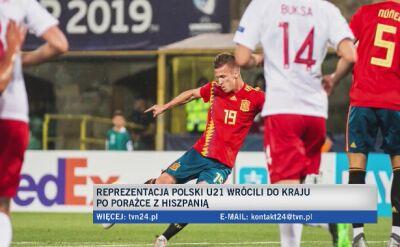 Czesław Michniewicz i Dawid Kownacki po Euro U-21