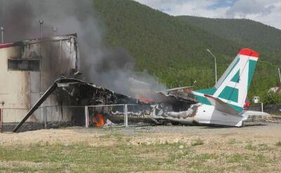 Awaryjne lądowanie samolotu pasażerskiego An-24