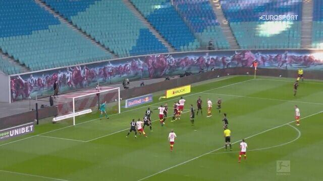 Skrót meczu RB Lipsk - Bayern Monachium w 27. kolejce Bundesligi