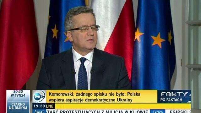 """""""O tym, kto jest prezydentem Ukrainy zawsze powinni decydować Ukraińcy"""""""