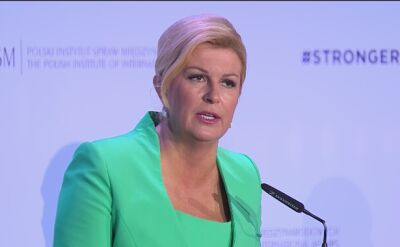 President of Croatia at the Global Forum
