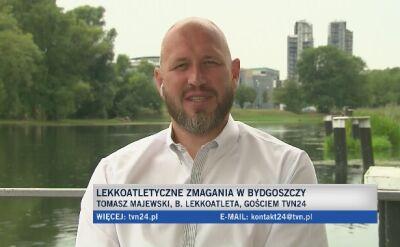 Tomasz Majewski: mamy paru faworytów w Bydgoszczy