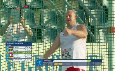 Piotr Małachowski bohaterem ostatniej akcji