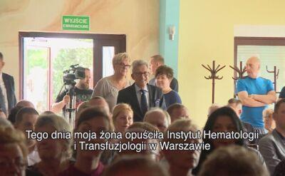 Stanisław Piotrowicz o locie z marszałkiem Kuchcińskim