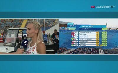 Święty-Ersetic po awansie do finału biegu na 400 m