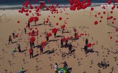 Brazylia wznowiła rozgrywki piłkarskie mimo 100 tysięcy zgonów na COVID-19