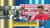 Lubański o rekordzie Lewandowskiego