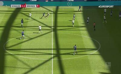 Skrót meczu Schalke - Werder Brema w 29. kolejce Bundesligi