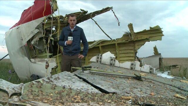 Reporter TVN24 na miejscu katastrofy: nie ma nikogo kto by zabezpieczył miejsce katastrofy