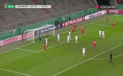 Puchar Niemiec. Augsburg - RB Lipsk 0:1. Gol Willi Orban