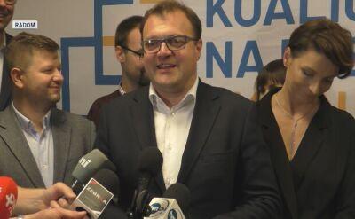 Radosław Witkowski został prezydentem Radomia