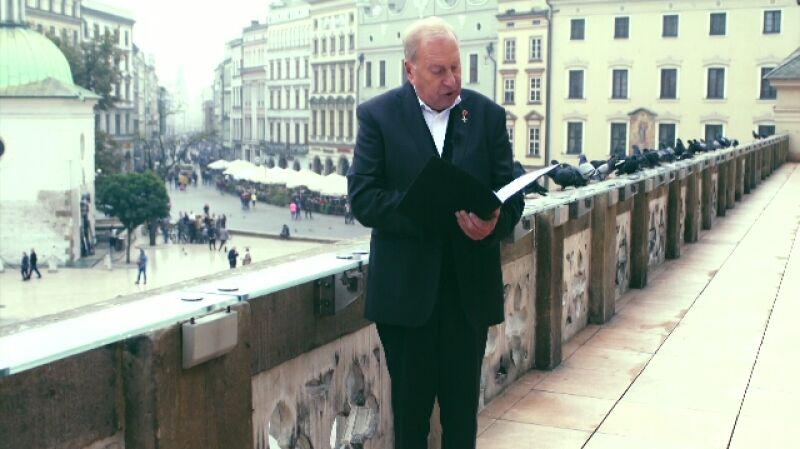 Życzenia dla Polski. Jerzy Stuhr czyta życzenia od Kryska563