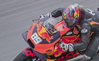 Marcel Hirscher spróbował sił w MotoGP