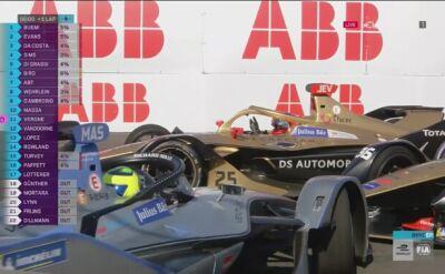 Chaos na ostatnim okrążeniu! Buemi wygrał 1. wyścig w Nowym Jorku