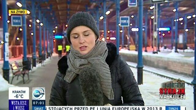 Relacja za Szczecina. Strajk trwa