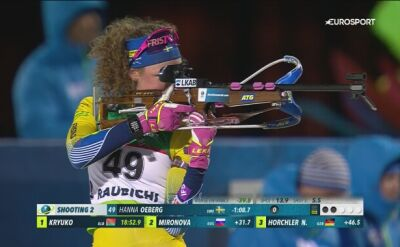 Oeberg mistrzynią Europy w biegu indywidualnym