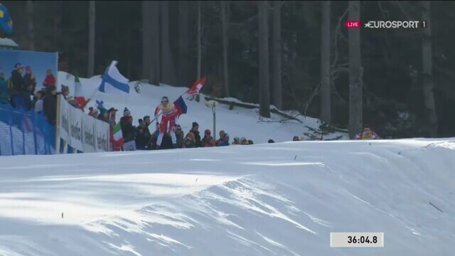 Therese Johaug mistrzynią świata w biegu łączonym