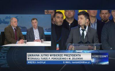 Wóycicki i Piekło o wyborach na Ukrainie