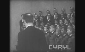 """""""Życzenie"""" Chopina w wykonaniu Poznańskich Słowików i Wojciecha Grottela"""