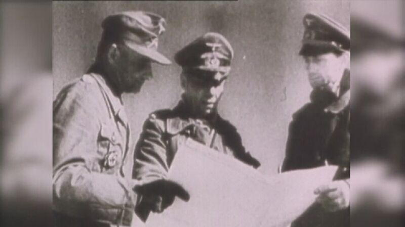 Wojska niemieckie lądują w Afryce Północnej