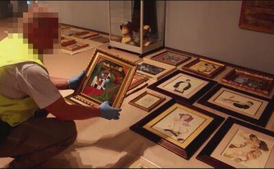 Policjanci odzyskali 80 kradzionych dzieł sztuki