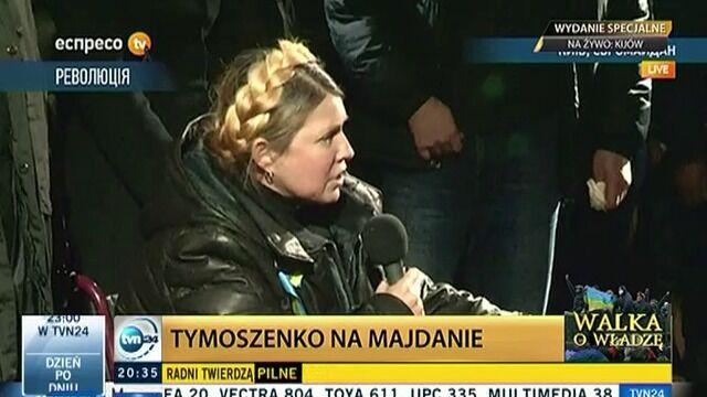 Tymoszenko: Karałam się za to, że nie jestem z wami