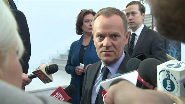 Tusk: byłbym bardzo ostrożny w prognozowaniu końca konfliktu