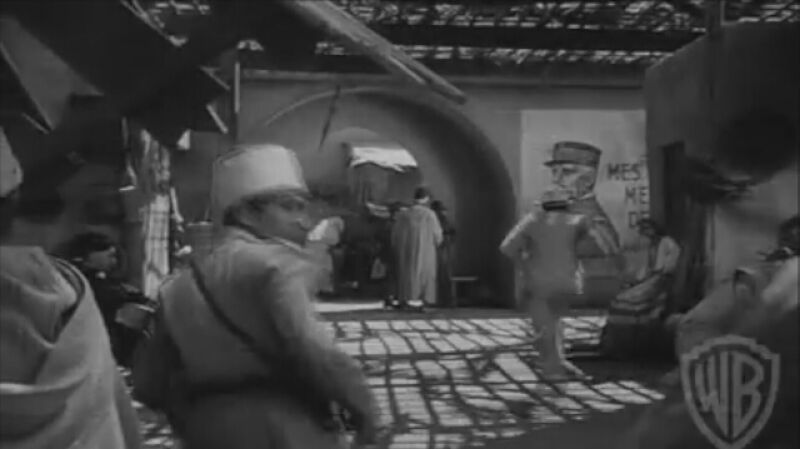 """Oryginalny zwiastun  """"Casablanki"""" z 1942 roku"""