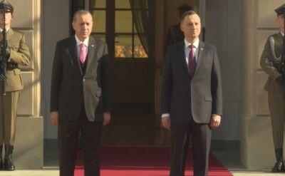 Wizyta, która wzbudza emocje. Prezydent Turcji w Polsce