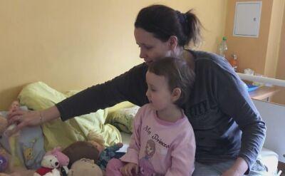 Stan 3-letniej Zuzi poprawia się